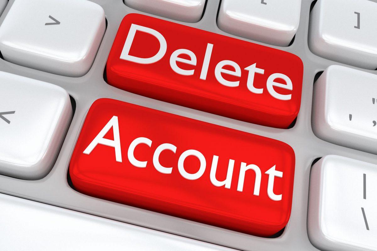 Zoho CRM無料版のアカウントを削除する方法